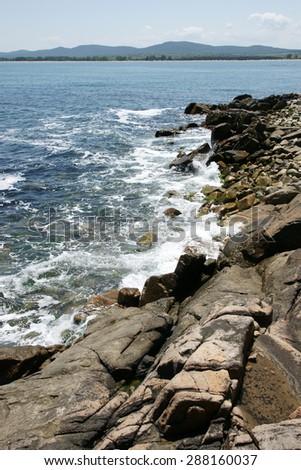 rocky - stock photo