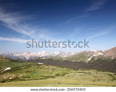 Rocky Mountain National park, Colorado  - stock photo
