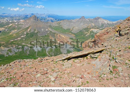 Rocky Mountains, Colorado - stock photo