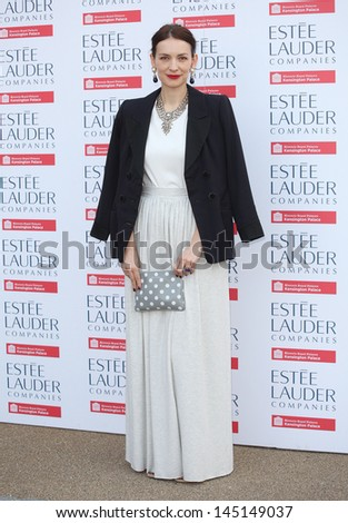 Roksanda Ilincic  arriving for the launch party for the Fashion Rules exhibition, Kensington Palace, London. 04/07/2013 - stock photo