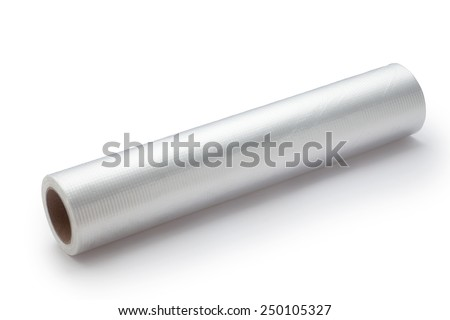 Roll of plastic bags - stock photo