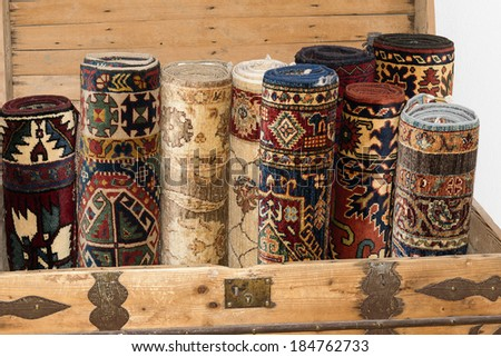 Rolled Rug Stock Photos Images Amp Pictures Shutterstock
