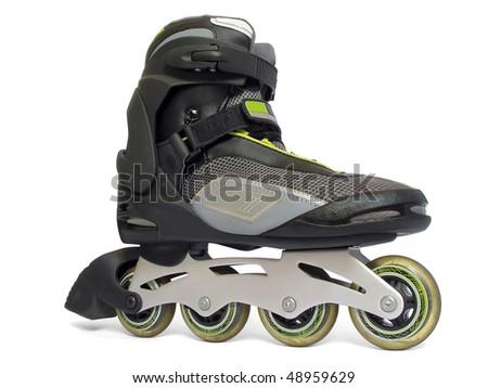 rollerblade - stock photo