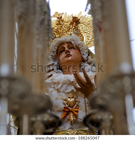 Roman Catholic Easter - stock photo