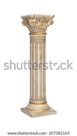 Roman Column - stock photo