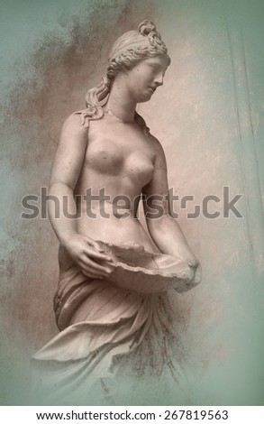 Roman sculpture - stock photo