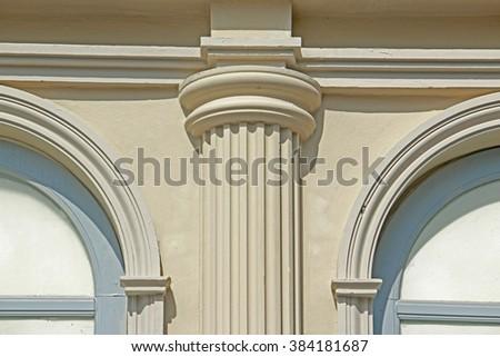 Roman Style Building - stock photo