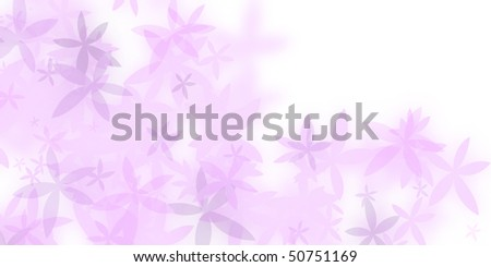 romantic blank wedding card - stock photo