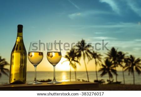 Romantic getaway.  - stock photo