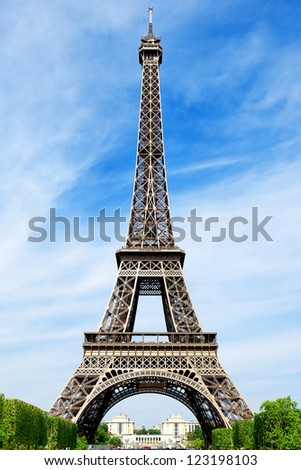 Romantic Paris - stock photo