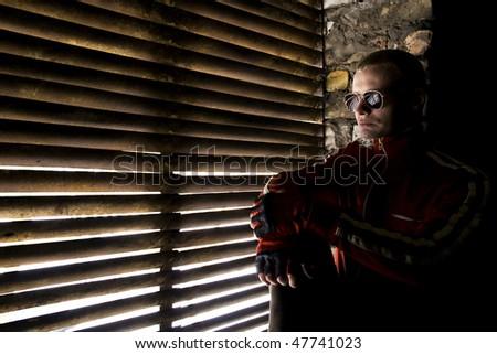 romantic undergrounder - stock photo