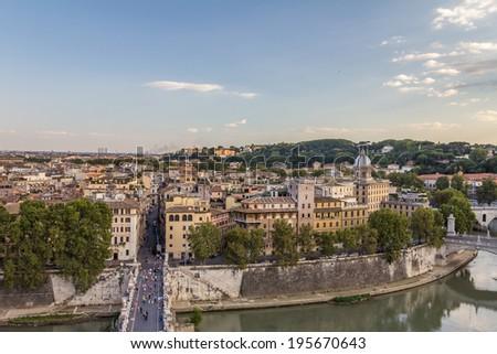Rome Italy - stock photo