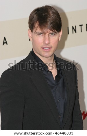 ROME - OCTOBER 23: Actor Tom Cruise attends the photo call for 'Lions for Lambs' during the 2nd Rome Film Festival October 23, 2007 in Rome, Italy - stock photo