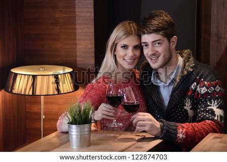 romonticni moments - stock photo