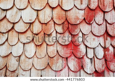 roof background  - stock photo