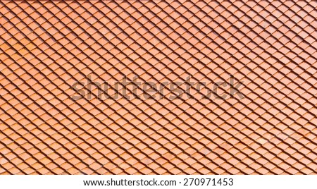 roof texture background - stock photo