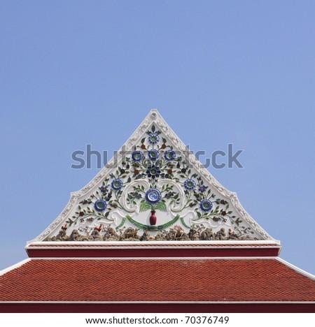 roof thai - stock photo