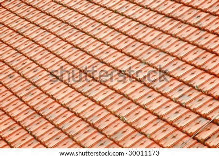 Roof Top Pattern - stock photo