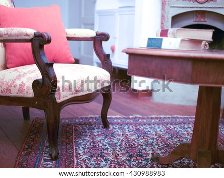 Room accommodation in hotel - stock photo