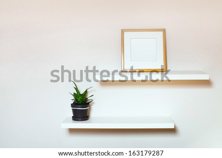 room interior - stock photo