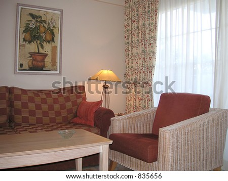 room interior - stock photo