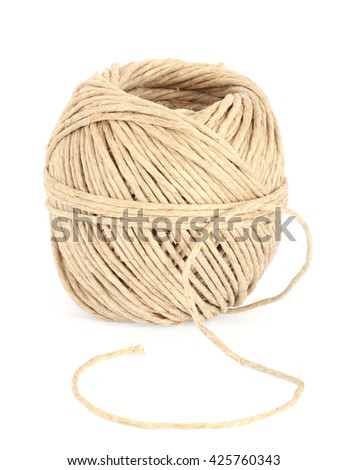 rope clew - stock photo