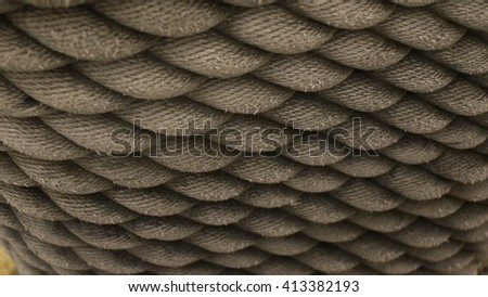 Rope - Close-up - stock photo