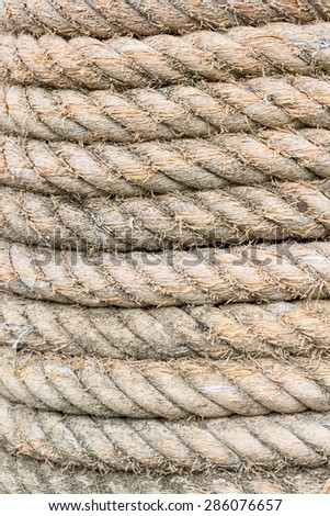 rope texture background - stock photo