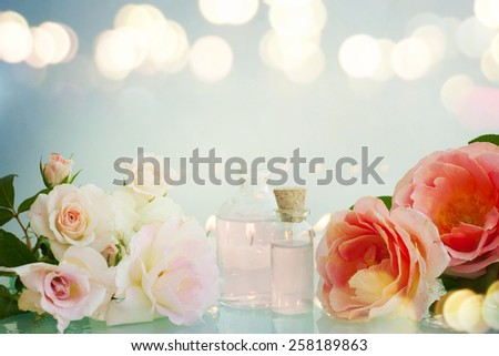 Rose Spa - stock photo
