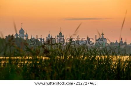 Rostov Kremlin, the Golden ring of Russia  - stock photo