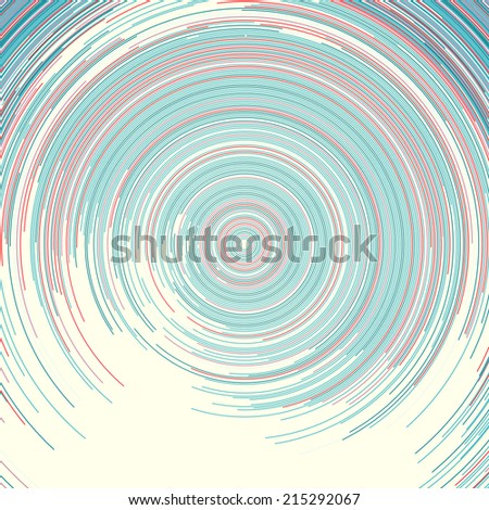 Rotating circle representing big data infographics. This is a series, check my portfolio for other color and style variations. - stock photo