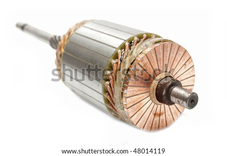 rotor for motor starter - stock photo