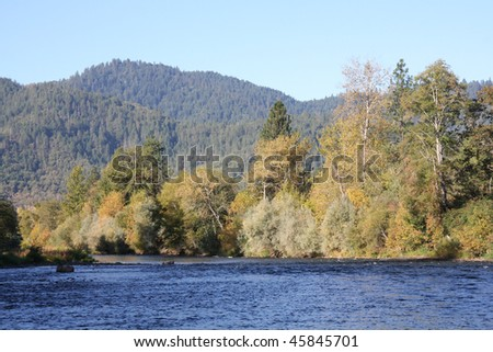 Rouge River, Oregon - stock photo