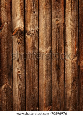 Rough boards background - stock photo