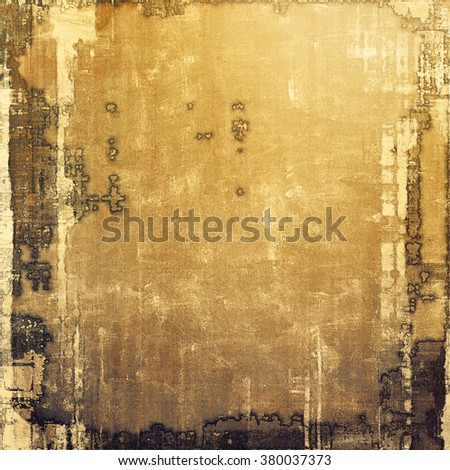 Rough grunge texture. With different color patterns: yellow (beige); brown; gray; black - stock photo