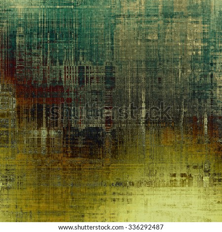 Rough grunge texture. With different color patterns: yellow (beige); brown; gray; green - stock photo