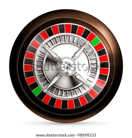 Roulette, bitmap copy - stock photo