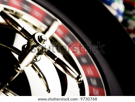 Roulette & Casino - stock photo