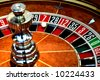 Roulette wheel - stock photo