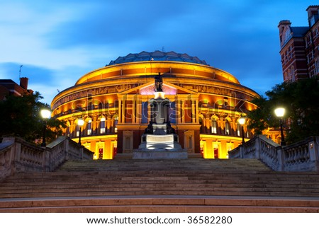 Royal Albert Hall, London - stock photo