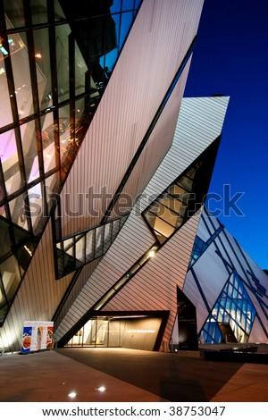 Royal Ontario Museum - stock photo