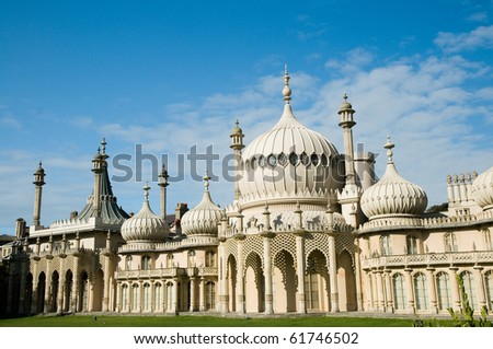 Royal Pavilion in Brighton - stock photo