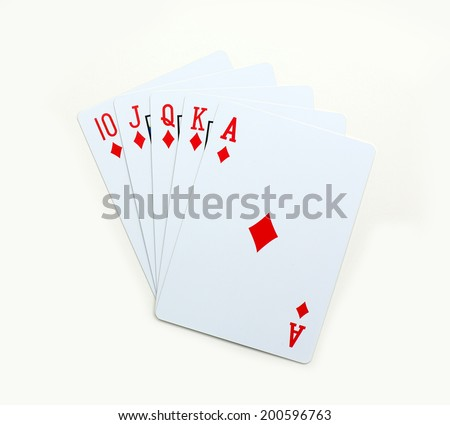 ace in poker straight