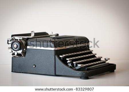 Royal Typewriter - stock photo