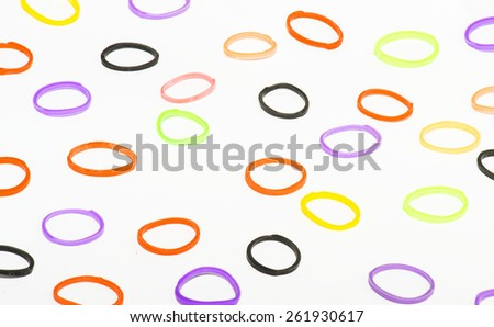 Rubber Band - stock photo