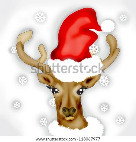 Rudolph - stock photo