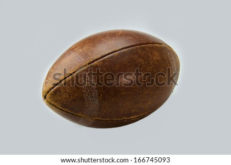 Rugby ball - stock photo