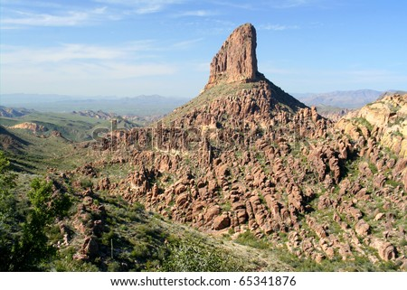 Rugged Desert Wilderness - stock photo