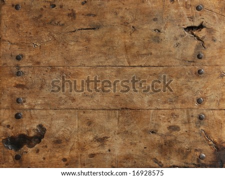 Rugged wood surface - stock photo