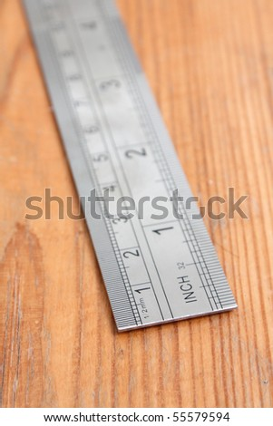 Ruler - stock photo